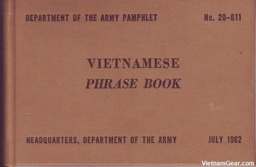 US Army Vietnamese Phrase Book