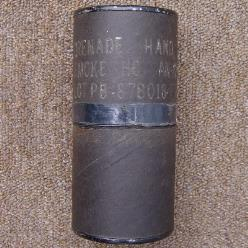 AN-M8 White Smoke Grenade Packing Tube