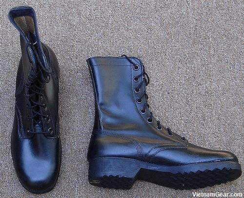 Leather Combat Boots DMS