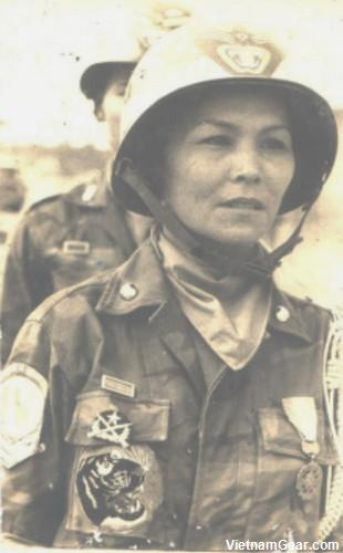 Madame Ho Thi Que, The Tiger Lady, courageously served in combat with the South Vietnamese 44th Ranger Battalion in the early 1960's.