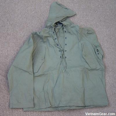 US Army Pullover Wet Weather Parka