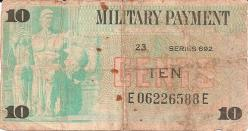 Military Payment Certificates - 692 Series