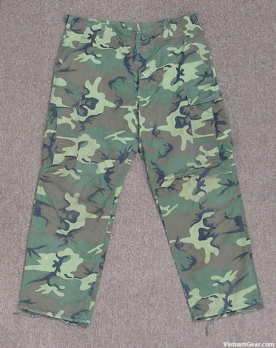 Tropical Combat Trousers 4th Pattern - ERDL