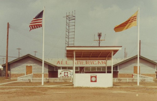 Headquarters building of the 3rd Bde.