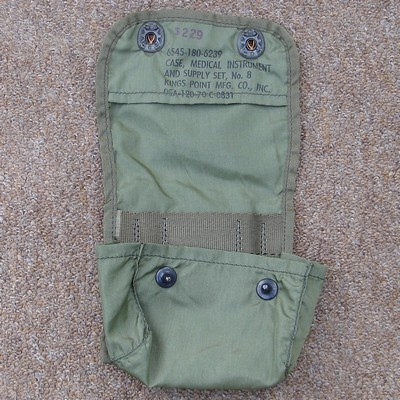 Nylon Jungle First Aid pouch - open view.